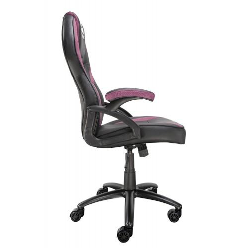 Silla gaming rosa y negro Talius Cobra