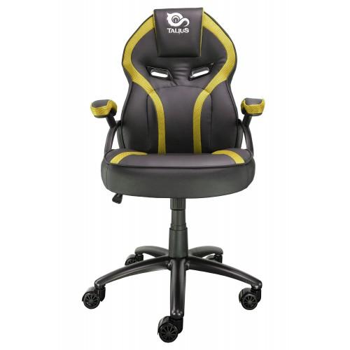 Silla gaming amarillo y negro Talius Cobra
