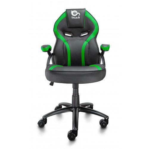 Talius silla Cobra gaming negra/verde