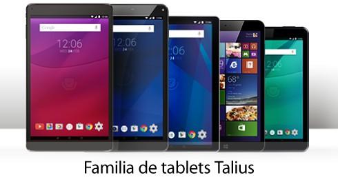 Familia de tablets Talius